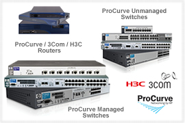 Click here for more HP ProCurve / 3COM / H3C products